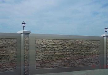 Заборы из бетона